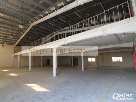 Huge Warehouse For Rent in Industrial Area