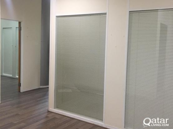 1 Month Free !!! 140 Sqm 6 Rooms Partitioned Office For Rent at Bank street
