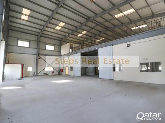 Spacious Warehouse For Rent at Industrial Area