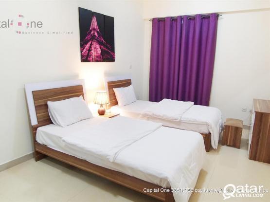 Fully Furnished 2 Bedroom Flats│Umm Ghuwailina