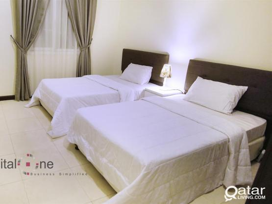 Best Rate for a 2 BR Apartment!!!│Al Najma