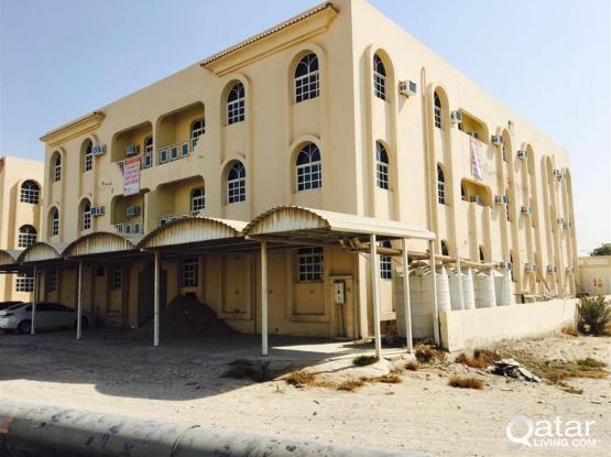 3 BHK SEMI FURNISHED AT WAKRAH  FOR EXECUTIVE BACHELORS