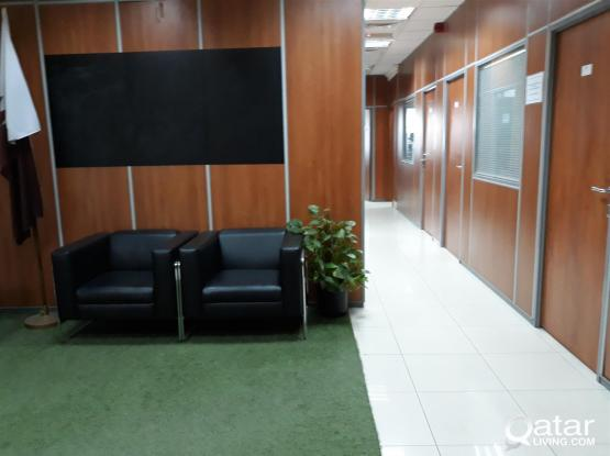 Unfurnished Serviced Offices in Doha