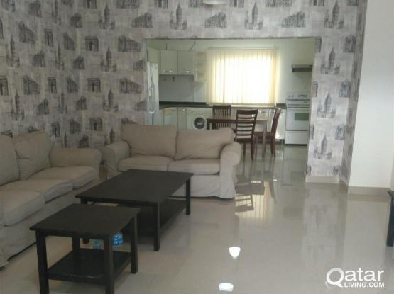 Nice and spacious 1 bedroom fully furnished Flat f