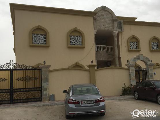 Brand new spacious 1 BHK villa apartment Available ainkahled abuhamour near big safari wit