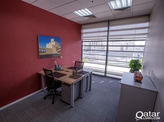 Prestigious Offices with Modern Furniture are put for RENT !