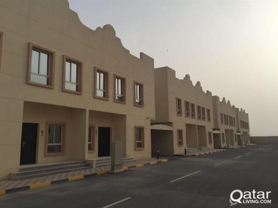 For rent villa families within a new complex near IKEA in Umm Salal Mohamed near Safari