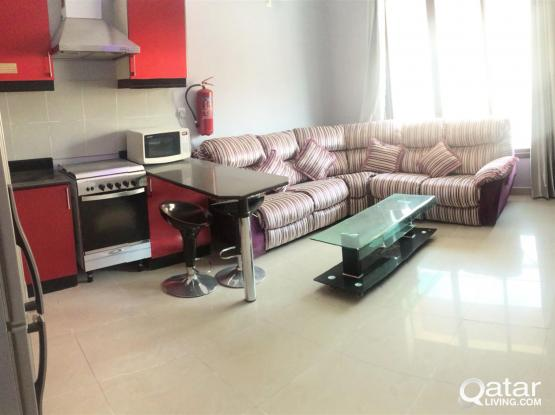 Fully-furnished, 1BR Apartment in Muaither
