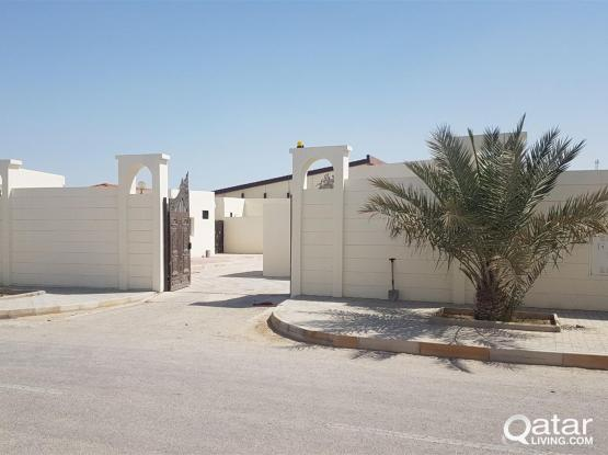 New 2 BHK SMALL VILLA TYPE PORTION AVAILABLE FOR FAMILYS  IN AIN KHALID NEAR PARK N SHOP