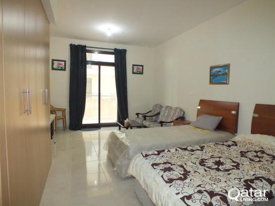 Fully Furnished Studio Flat For Rent In Lusail Area