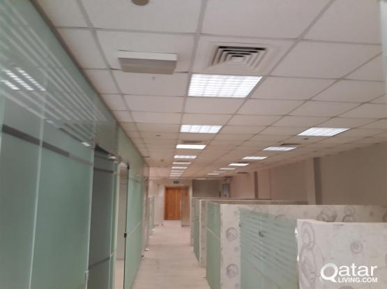 239 Sqm Glass Partitioned Office at C Ring Road