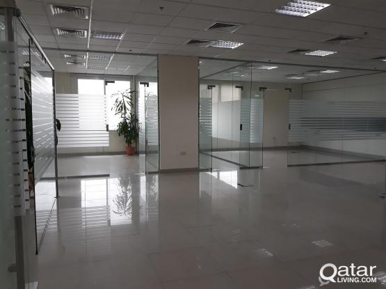 168 Sqm 5 Rooms Partitioned Office in Muntaza