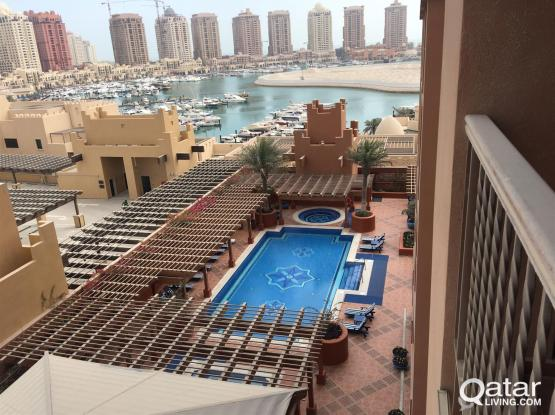 Spacious 1 & 2 BHK Apartments with 2 Free Month Rent at Porto Arabia