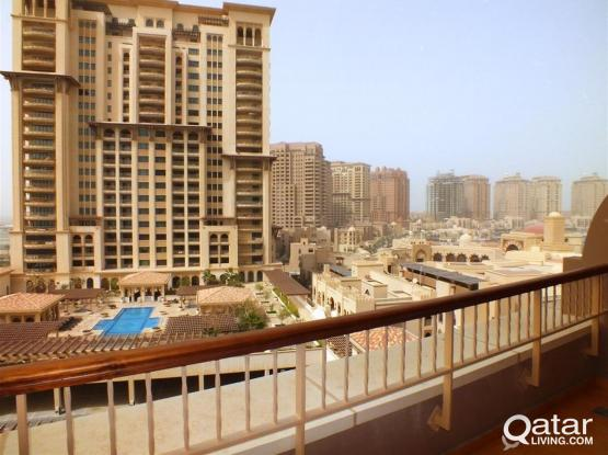 Semi Furnished One BedRoom Apartment For Sale In Pearl Island