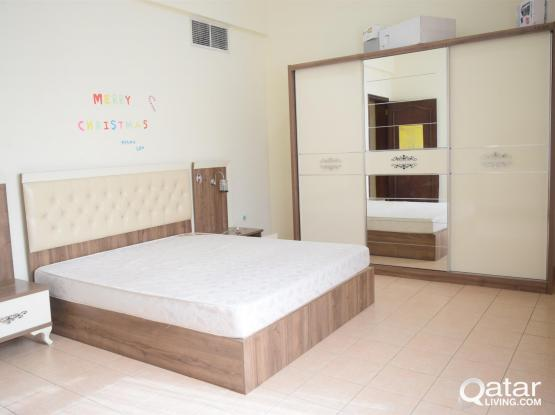 3BHK Spacious Furnished Compound Apartments Available at Al  Nasr