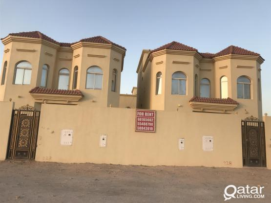 9 BED ROOM FULLY FURNISHED VILLA IN AL KHOR