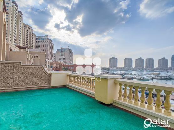 Marina View 4 BR plus Maids Townhouse in The Pearl