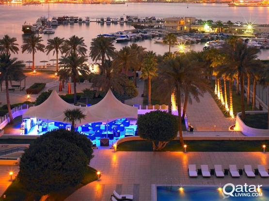 Doha Bus: First stop, Doha Marriott Hotel