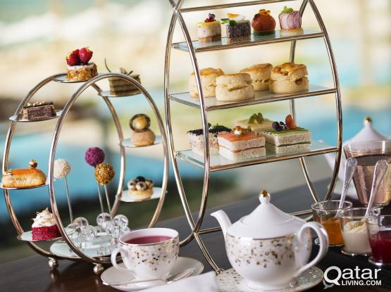 Golden High Tea at Café Murano