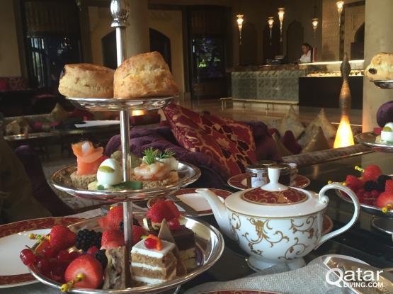 Afternoon tea at Al Jalsa