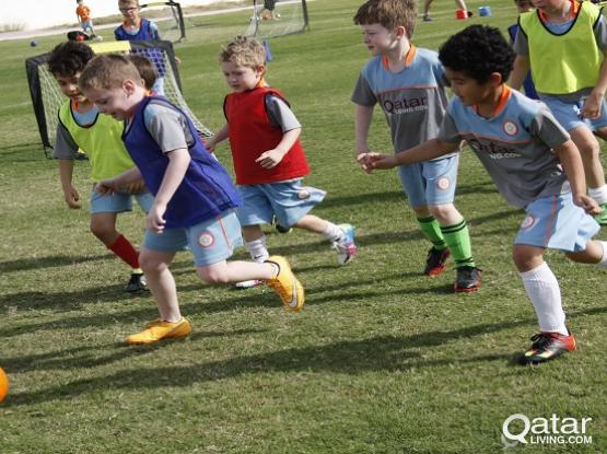 Football holiday club for kids this spring