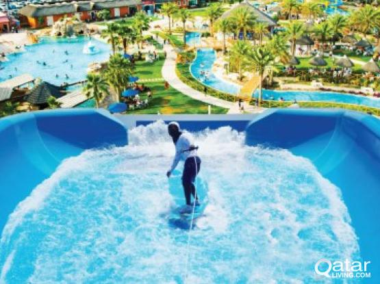 Rhythms of the ocean at Aqua Park - Qatar's new surfing experience