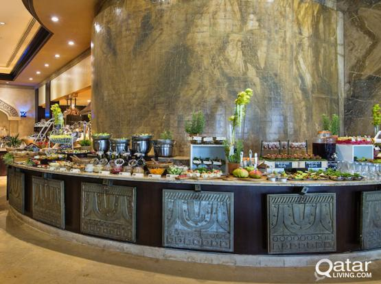 International Friday Brunch at Sharq Village & Spa, a Ritz-Carlton Hotel