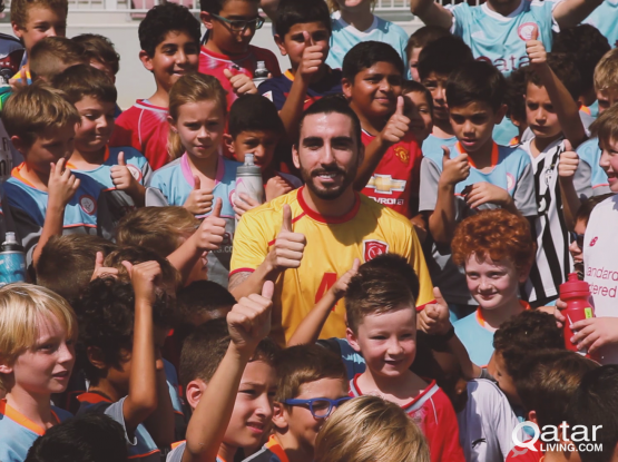 VIDEO: Future stars meet Lekhwiya footballer Chico Flores