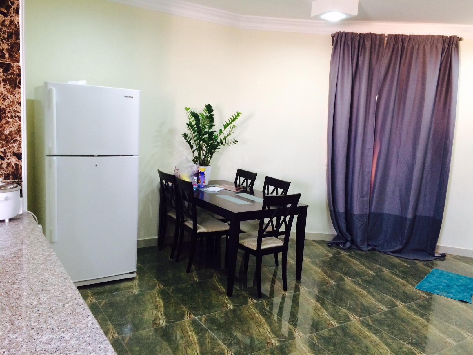 one bed room full furniture apartment, delux,