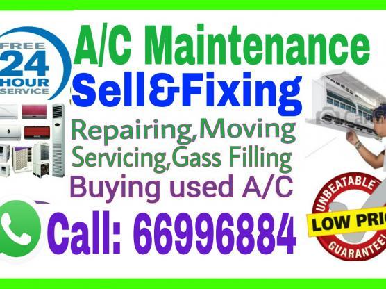 A/C Selling andFixing,RepairingEtc.Call:66996884
