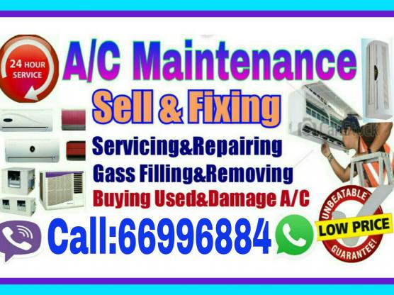 A/C Sale and Buy Repairing.Servicing Call:66996884