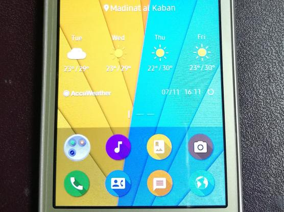 Samsung mobile Z2- not android 4G like new, 3 week