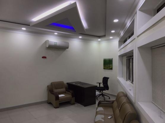 we have a furnished standard office in Najma