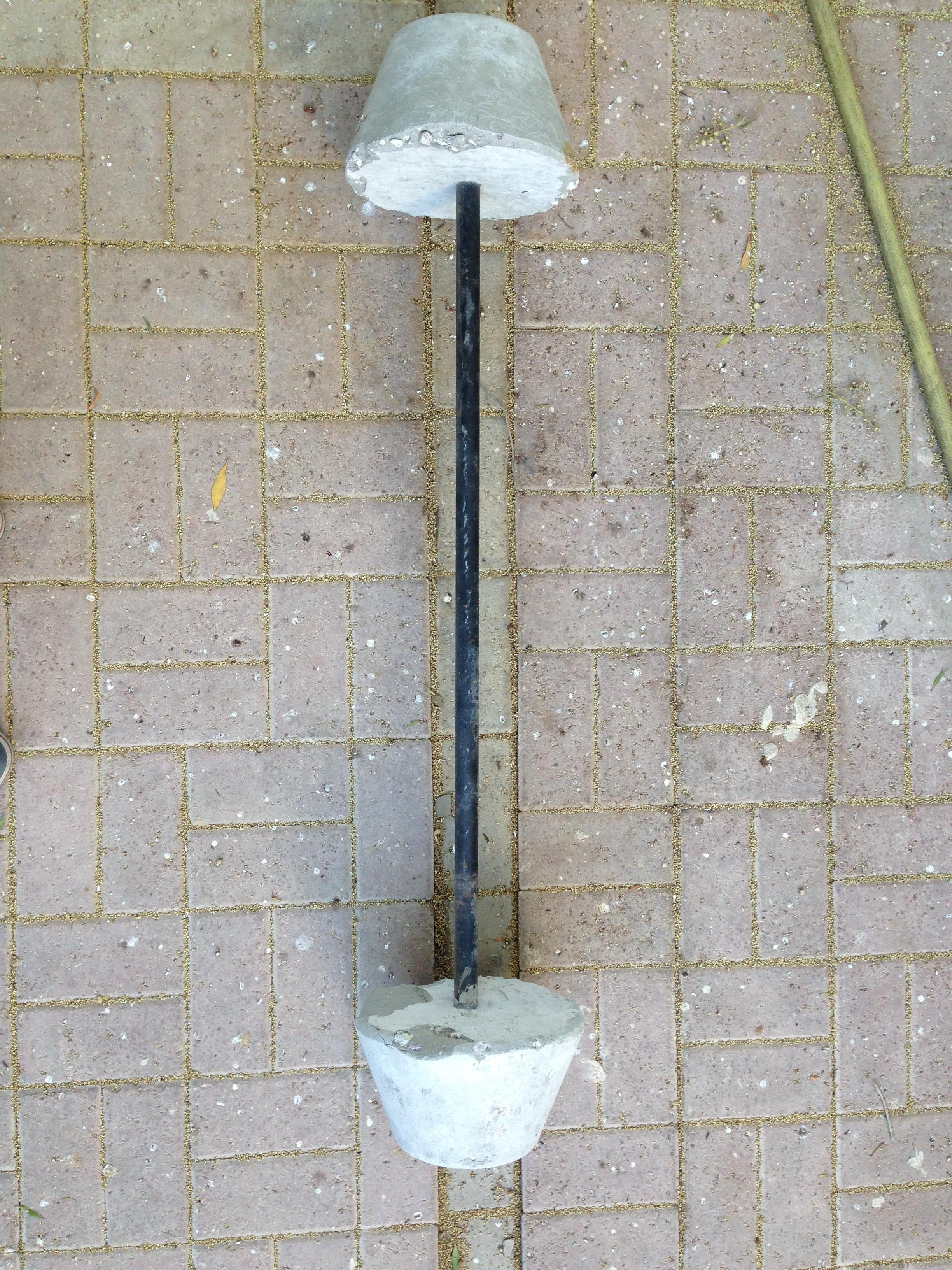 Cement Barbell 25kg