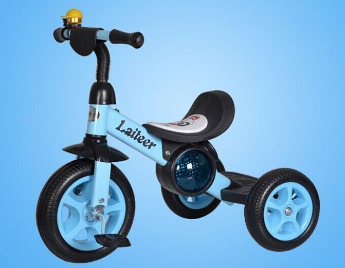 Children's tricycle bicycle pedal light music