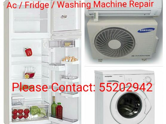 AC, FRIDGE and WASHING MACHINE REPAIR 55202942