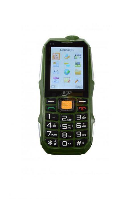 Rugged Mobile with flashlight & Power Bank (ne