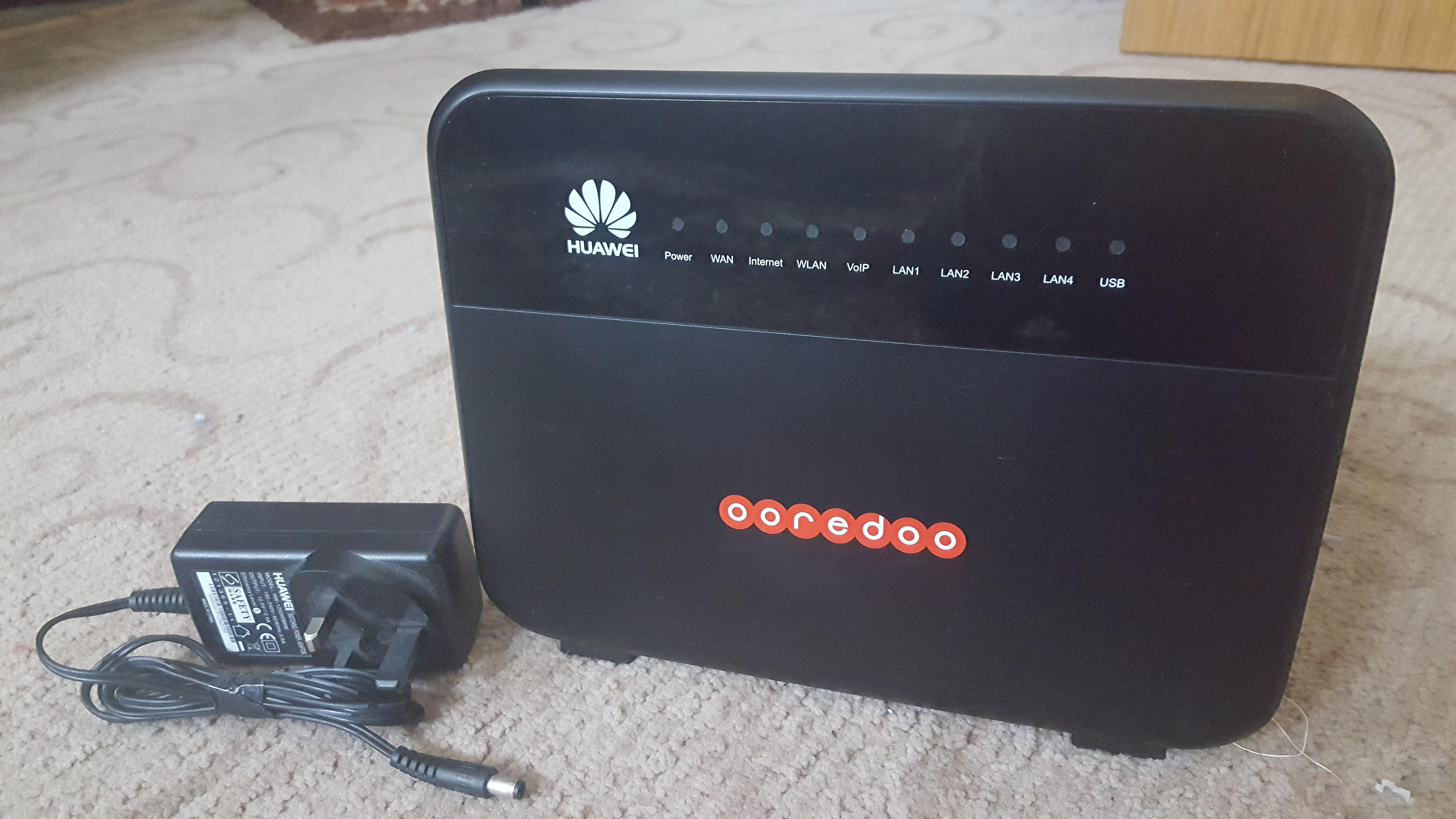 Huawei HG659 WIFI Router For Sale (Ooredoo)