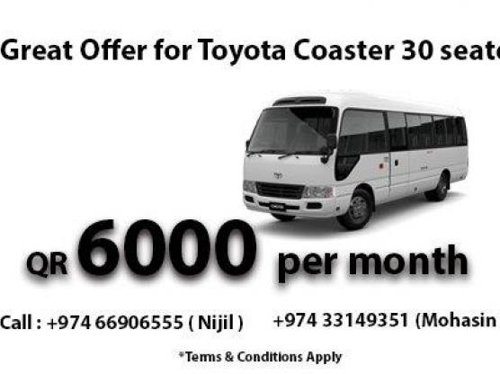 30 seater Bus Offer