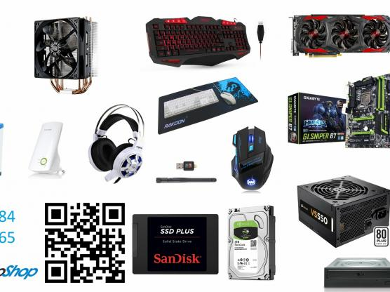 New PC Components & Peripherals