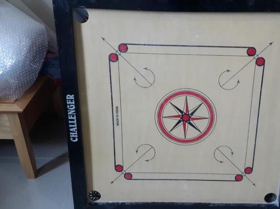 Carrom board--unused-excellent condition--sms only