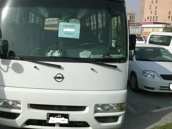 Nissan civillian 2011 model 30 seated bus for rent