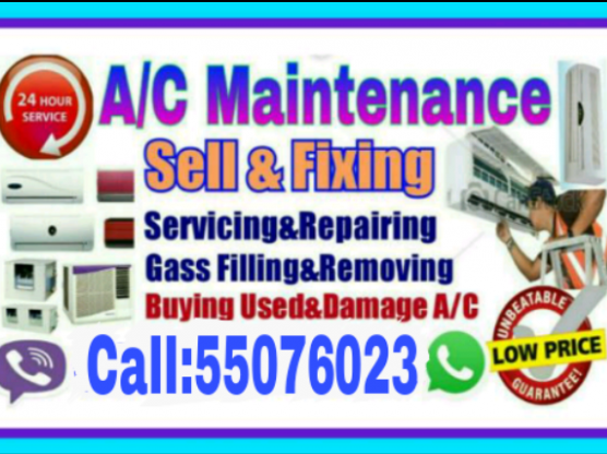 A.C.saIe.fixing.servicing.repairing.call55076023