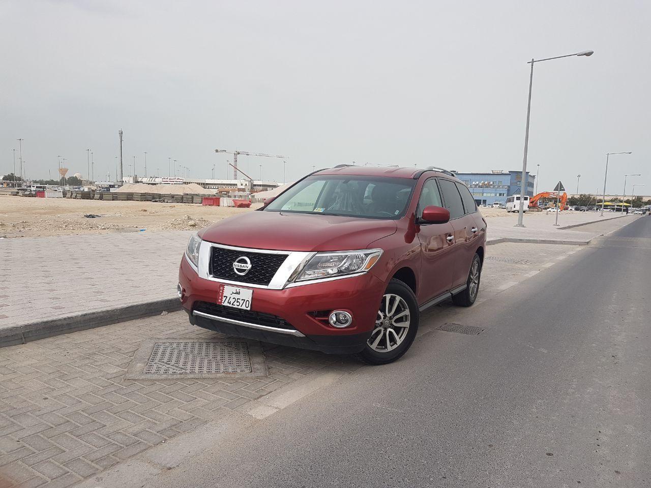 Nissan Pathfinder sv high options 2015