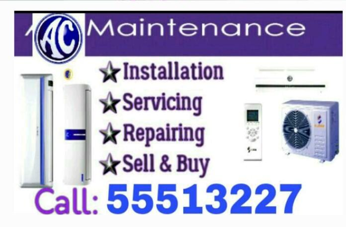 A/C Sarvices Buy & Sell Call:55513227