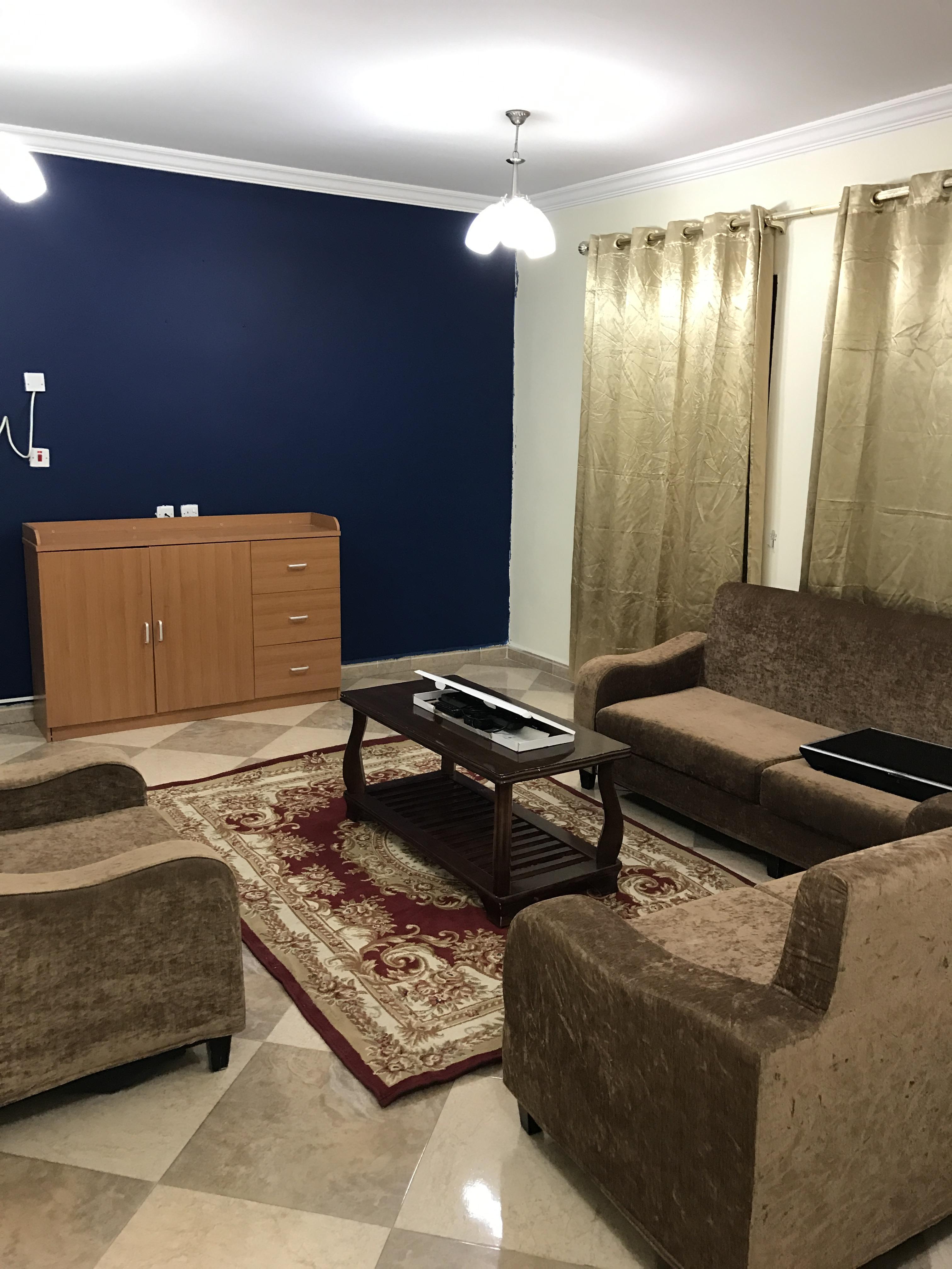 Fully furnished flat for rent شقة مفروشة لاليجار