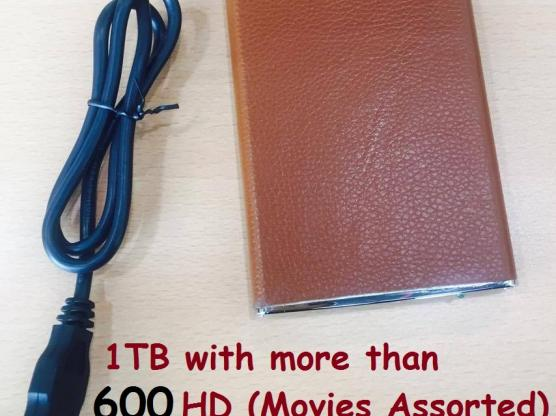 Urgent Sale! 1TB HDD with more than 600 HD Movies