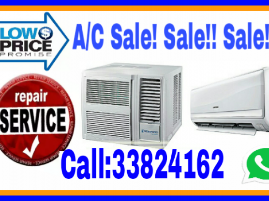 A/C Sale and Installation, Repair, Call:3382 4162