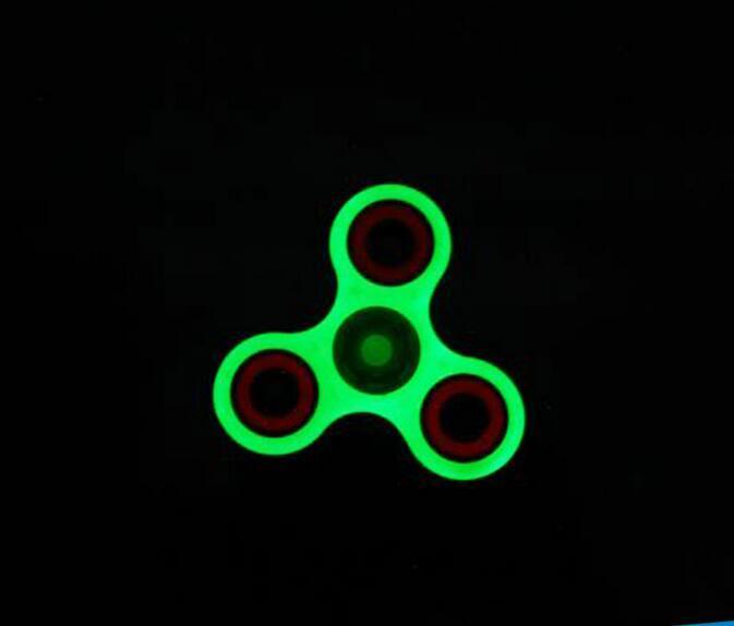 LED LIGHT 360 Degree Rotation FIDGET Tri Spinner H
