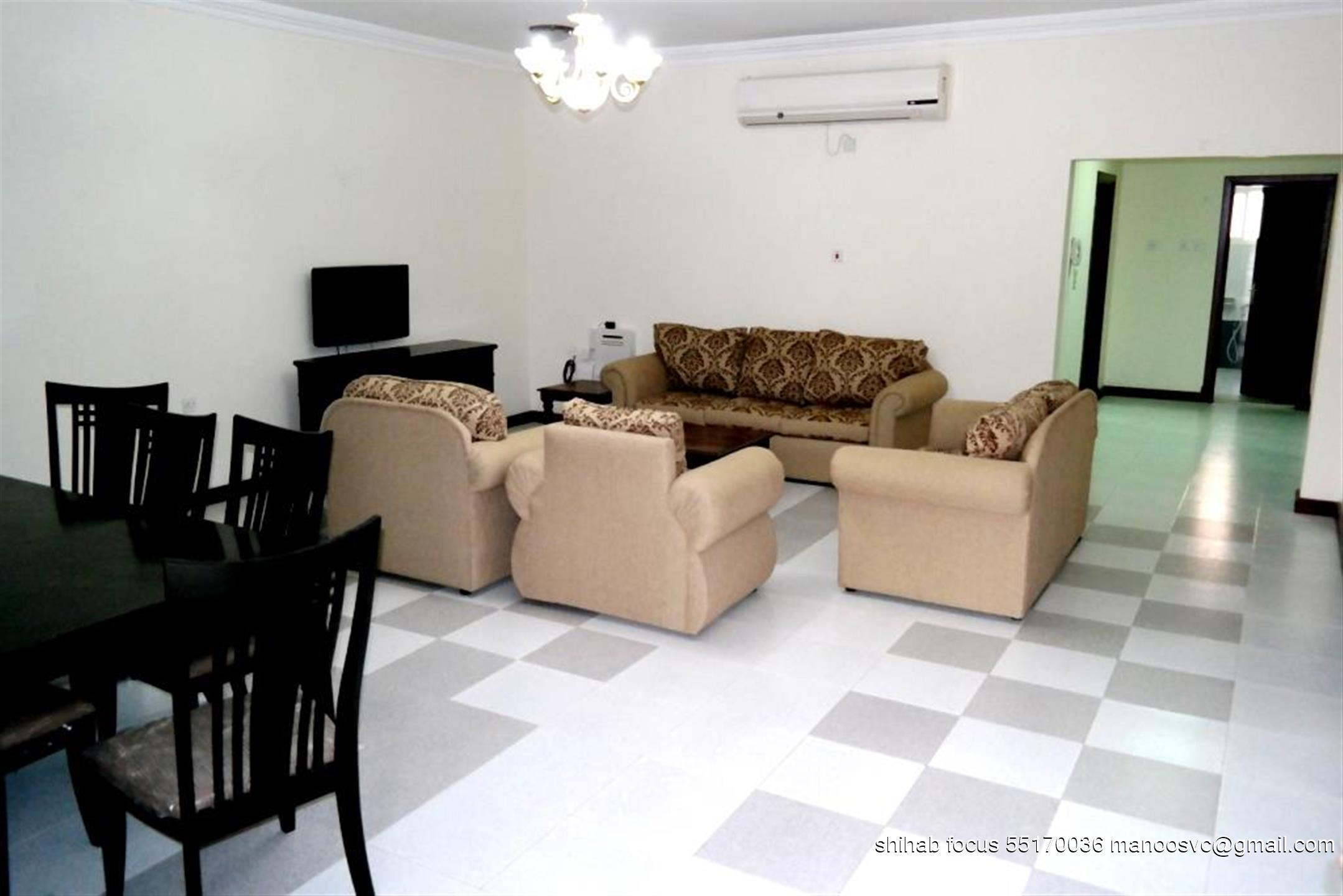 (NO COMMISSION) BEAUTIFUL FULLY FURNISHED 3 BHK CO